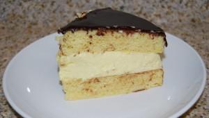 Boston Cream Pie from Dixie Diner