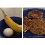 2-ingredients Pancakes