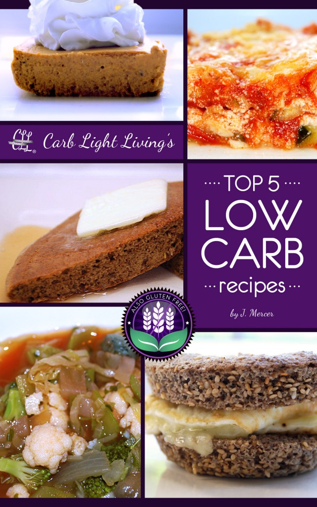 Top 5 LOW CARB Recipes
